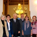 2014 - Pilar Pifarre, C.Cavaller, Conseller Ferran Mascarell, T.Manyosa, M.D.Escriche, M.Roca